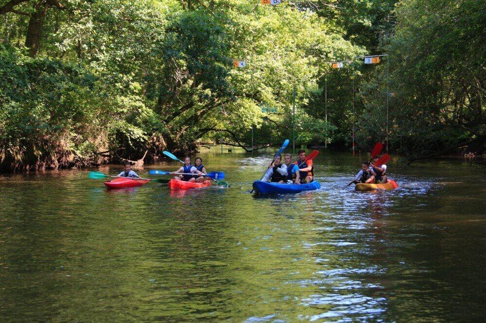 Location canoë sur la Leyre - Club de Canoë Kayak du Teich