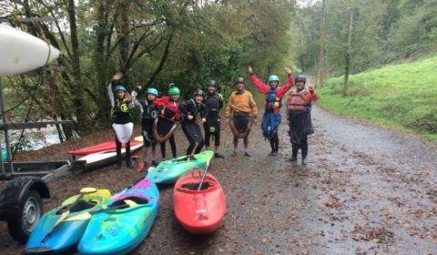 Sortie Kayak à Pau
